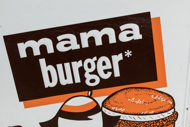 Collection of Three A&W Drive-In Rootbeer Burger Signs For Sale 7
