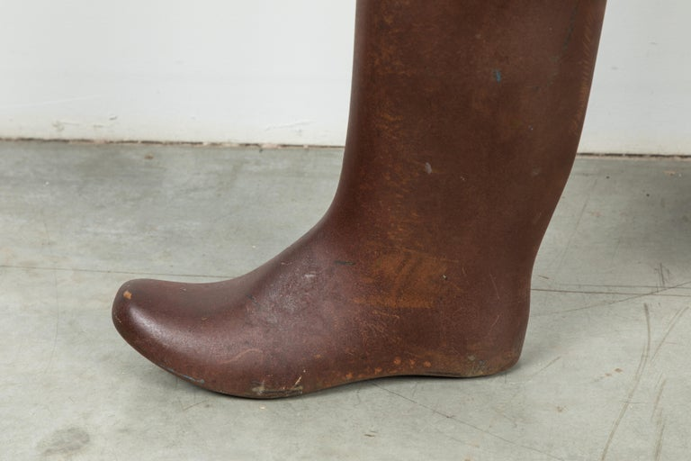 Heavy Iron Industrial Work Boots Factory Molds In Good Condition For Sale In Santa Monica, CA