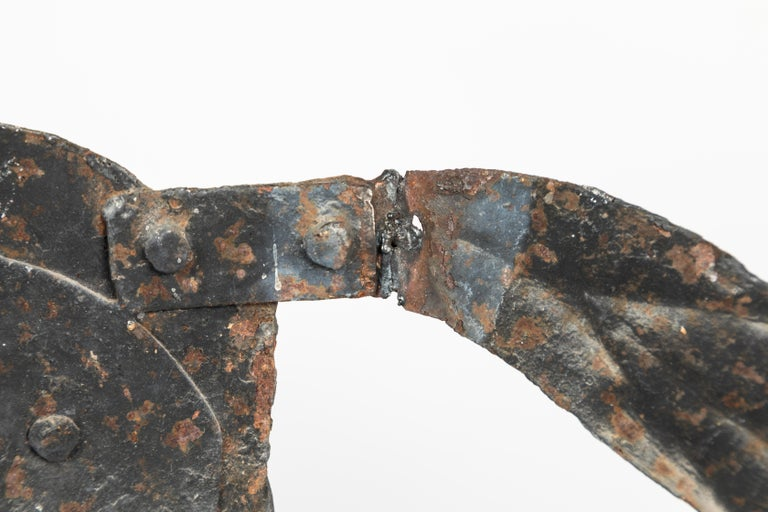 19th Century American Folk Art Iron Horse Weathervane For Sale 1