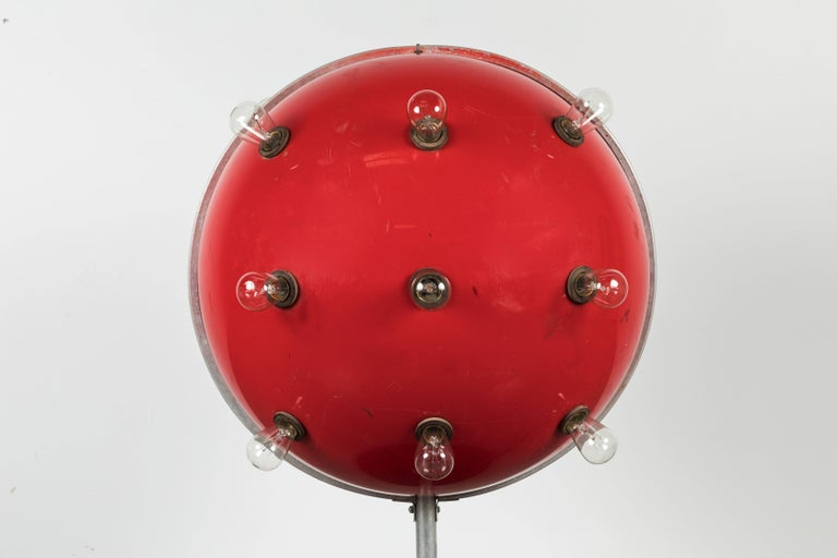 Steampunk Carnival Midway Flashing Sputnik Light For Sale