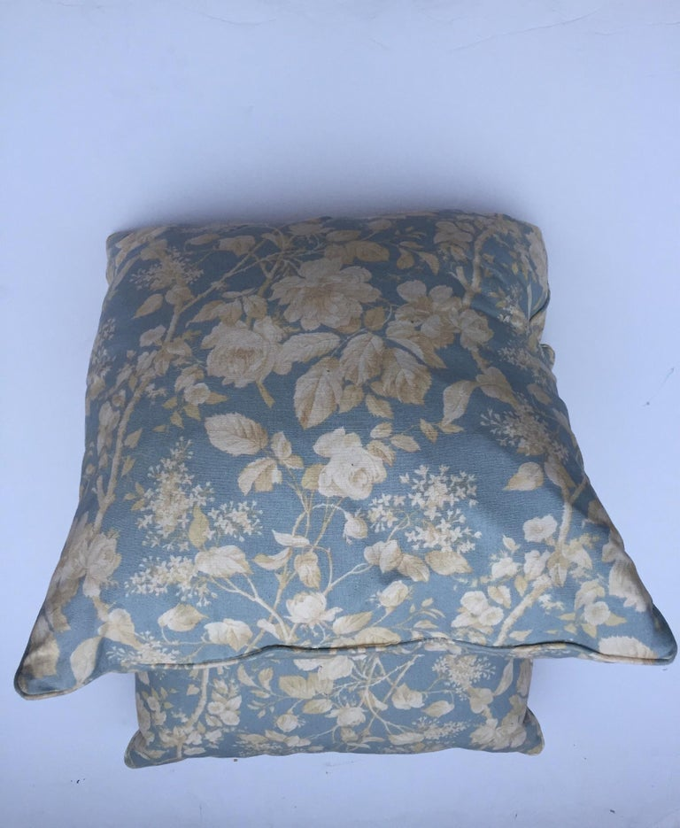 American Pair of Ralph Lauren Down Pillows For Sale
