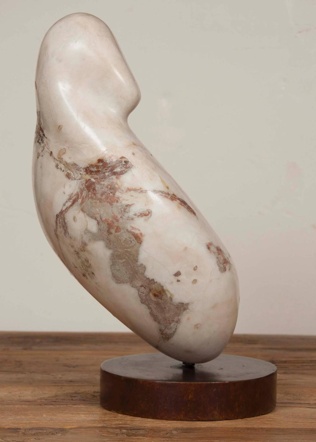 Mid Century Modern Marble Sculpture For Sale At 1stdibs