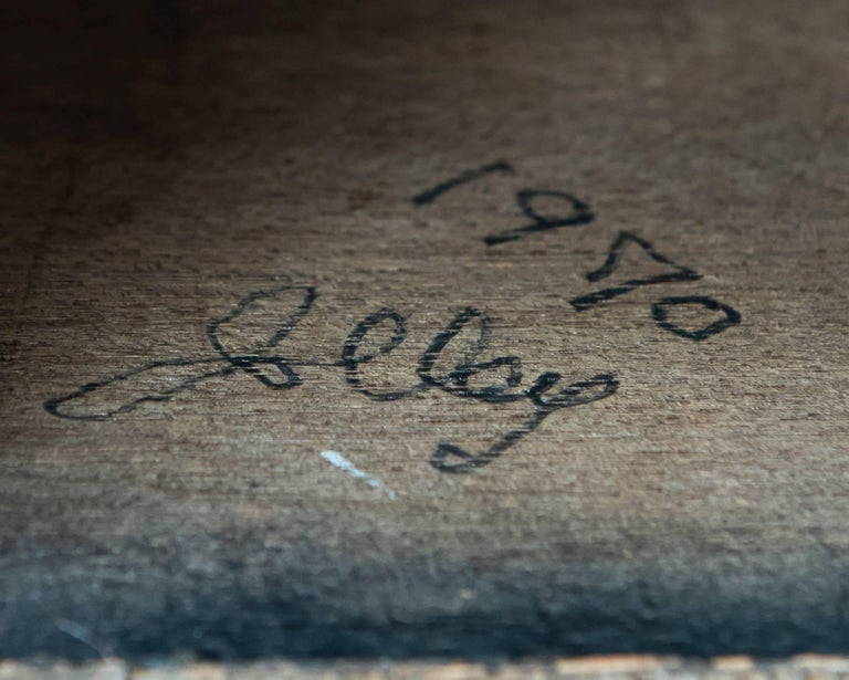 Welded Signed George Jolley Vintage Metal Sculpture after Harry Bertoia For Sale