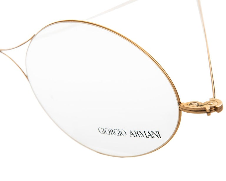 Vintage Giorgio Armani Giant Store Display Glasses In Good Condition For Sale In Toronto, ON