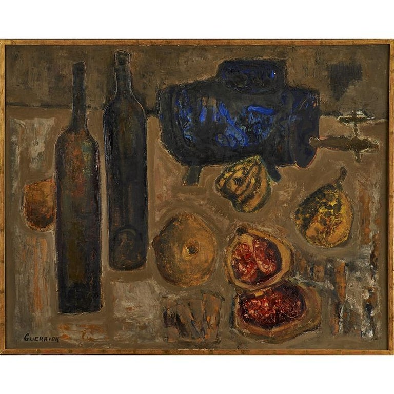 Colourful Still Life by Raymond Guerrier For Sale