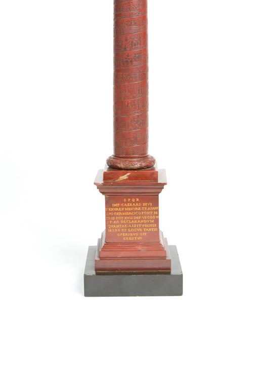 Pair of Rosso Antico Marble Grand Tour Columns For Sale 4