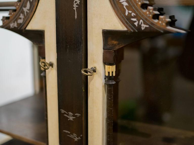 Italian Important and Rare Cabinet by Carlo Bugatti For Sale