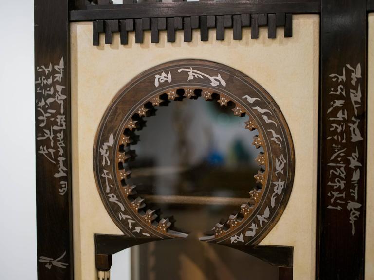 Important and Rare Cabinet by Carlo Bugatti For Sale 2