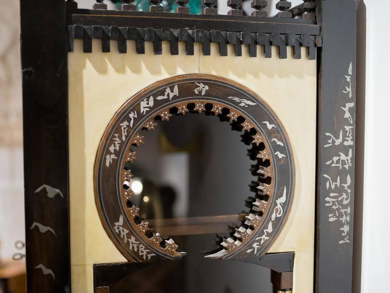 Important and Rare Cabinet by Carlo Bugatti For Sale 3