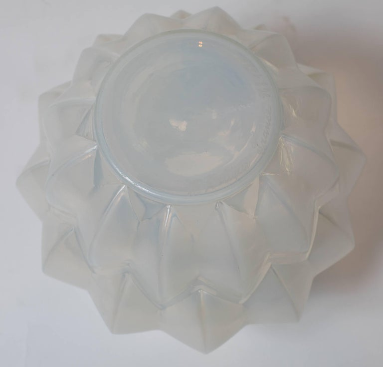 Art Deco Opalescent Glass Vase