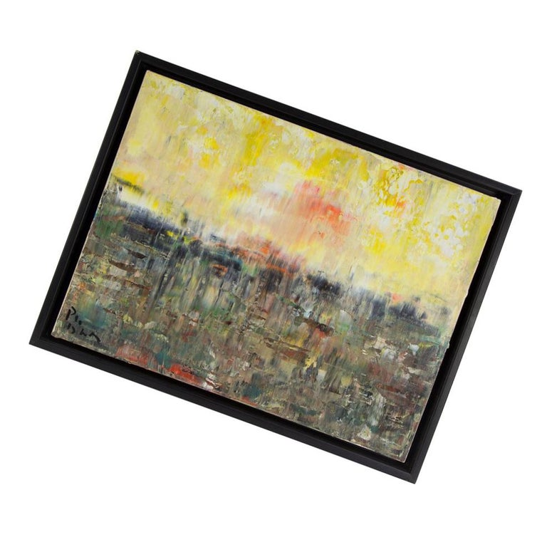 Canadian Summer Meltdown Abstract Acrylic on Canvas Painting by Andrew Plum For Sale