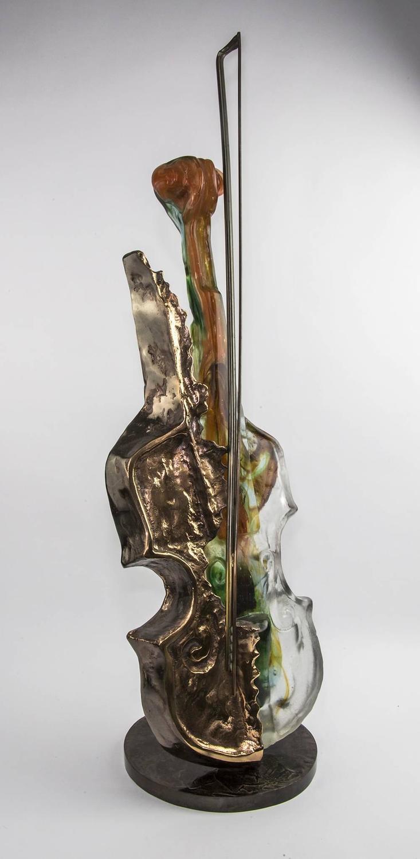 Yves Loh 233 Vivaldi Violin Sculpture At 1stdibs