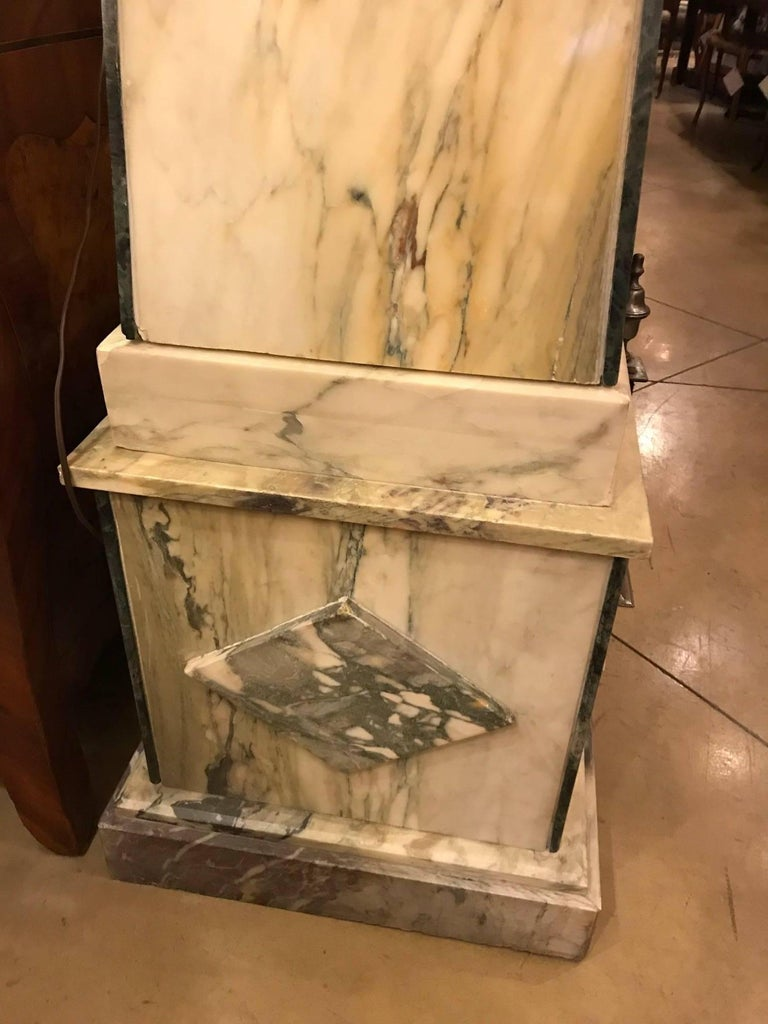 20th Century Pair of Marble Obelisks For Sale