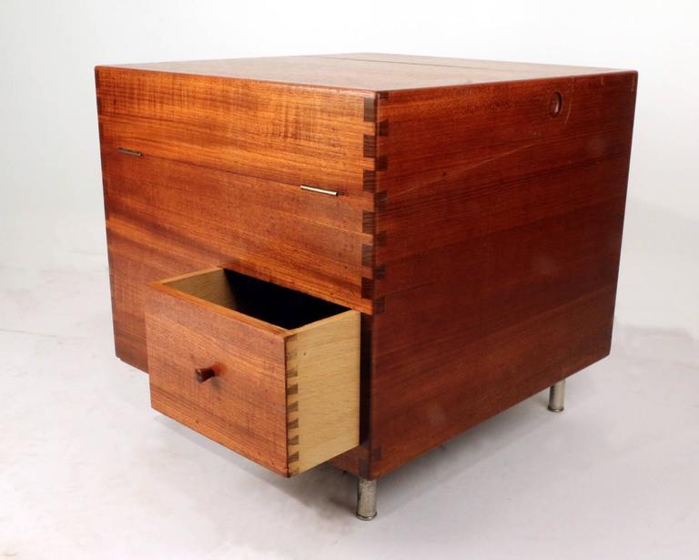Hans Wegner's Cube Bar for Andreas Tuck 2