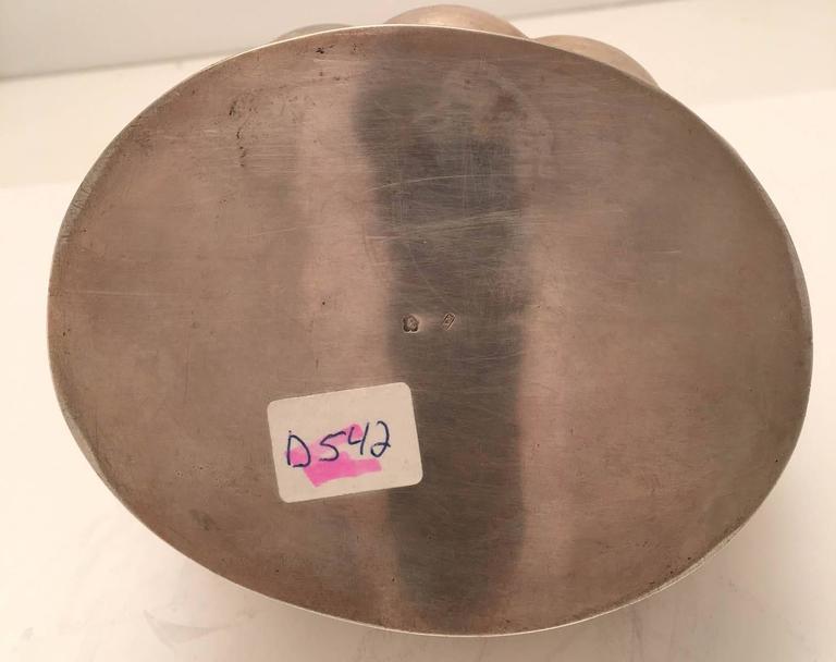20th Century Austrian Secessionist Silver Sugar or Etrog Box For Sale