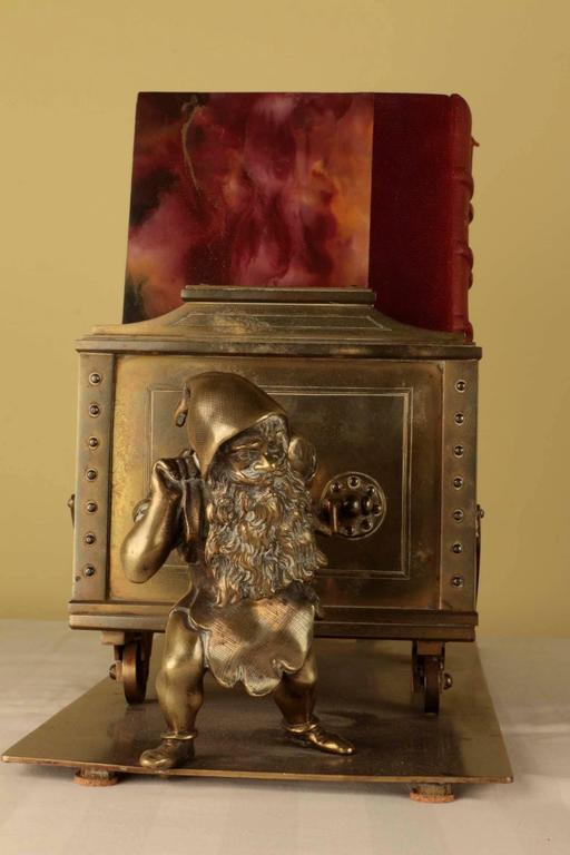 Austrian 19th Century Continental Desk Top Book Stand For Sale