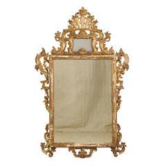 Italian 19th Century Rococo Style Mirror