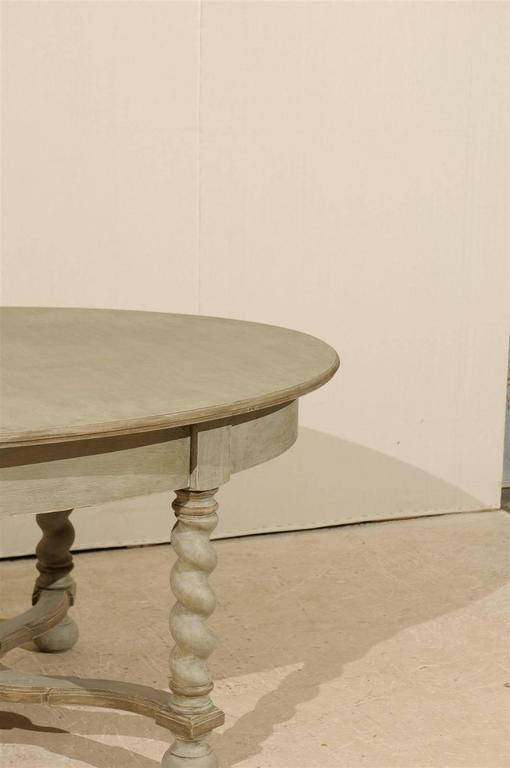 Swedish Baroque Style Oval Table from the Mid-20th Century For Sale 2