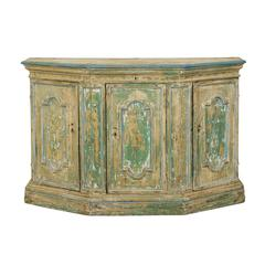 Italian, 18th Century Painted Wood Credenza