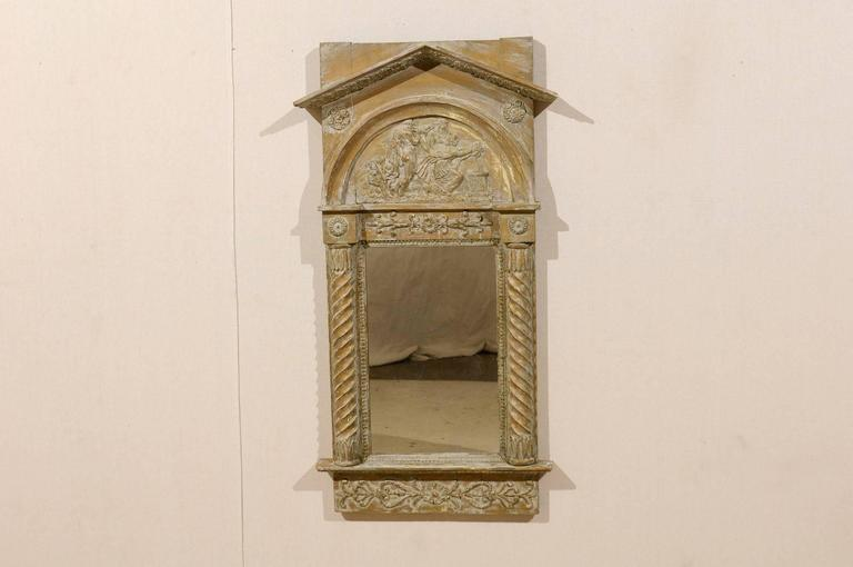 Neoclassical Swedish Wood Mirror with Twisted Columns, circa 1820 at ...