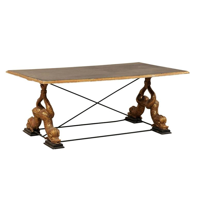 Fine Italian Mid Century Coffee Table With Carved Mythological Cjindustries Chair Design For Home Cjindustriesco