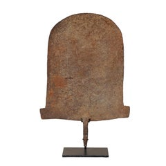 """Large African Iron """"Shovel"""" Money Currency from the Early 20th Century"""