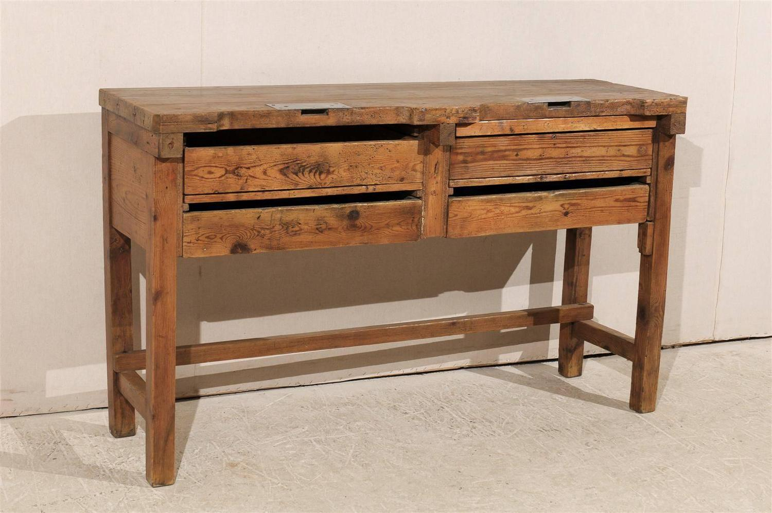 19th Century Jeweler 39 S Table Or Work Bench For Sale At 1stdibs