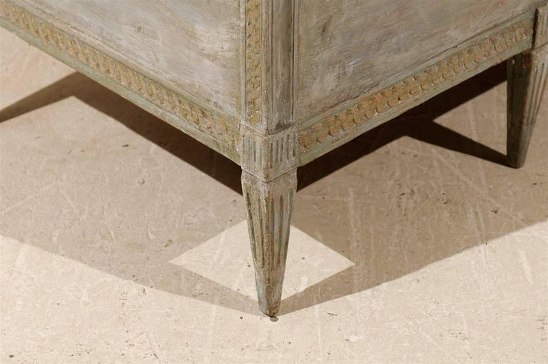 Swedish Period Gustavian Painted Wood Bench from the Late 18th Century For Sale 6