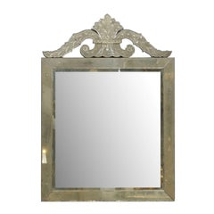 Roma Venetian Style Mirror, Handmade and Hand Silvered