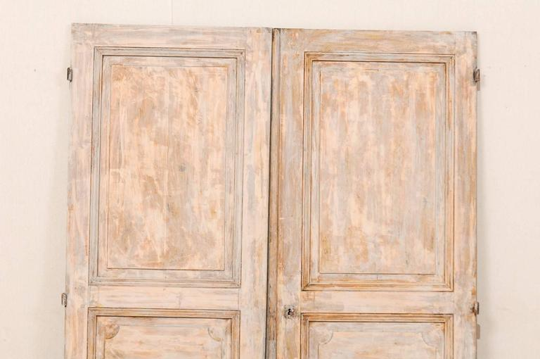 Pair of european french style 19th century doors with for European french doors