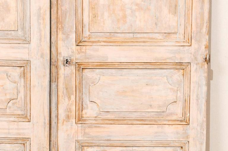 Pair Of European French Style 19th Century Doors With