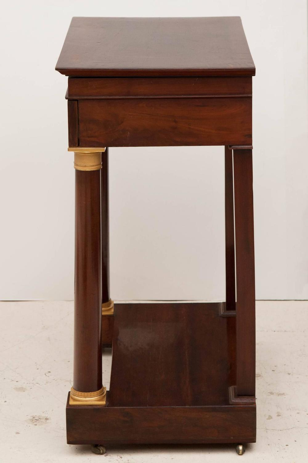 Small empire dressing table at 1stdibs for Small dressing table