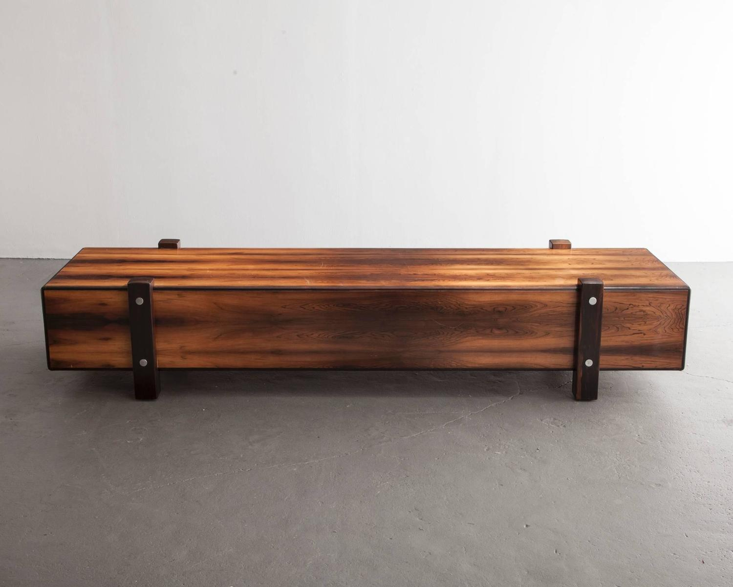 Large Eleh Bench By Sergio Rodrigues Brazil 1965 For