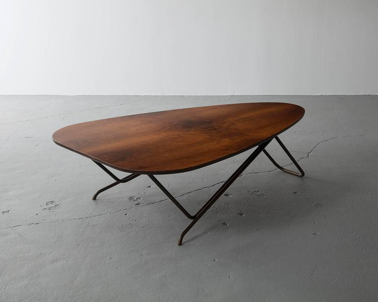 American Wood Coffee Table by Greta Magnusson Grossman, USA, 1952 For Sale