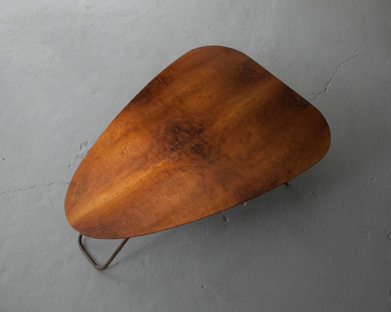 Wood Coffee Table by Greta Magnusson Grossman, USA, 1952 In Excellent Condition For Sale In New York, NY