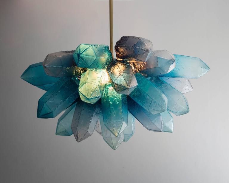 Illuminated Crystal Cluster By Jeff Zimmerman Usa 2016