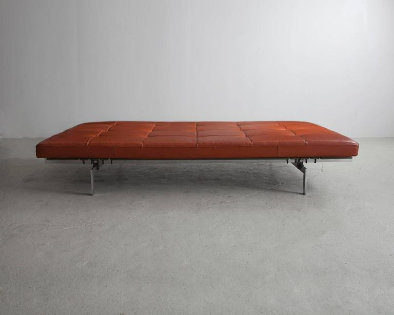 Danish PK 80 Daybed by Poul Kjaerholm, Denmark, circa 1968 For Sale