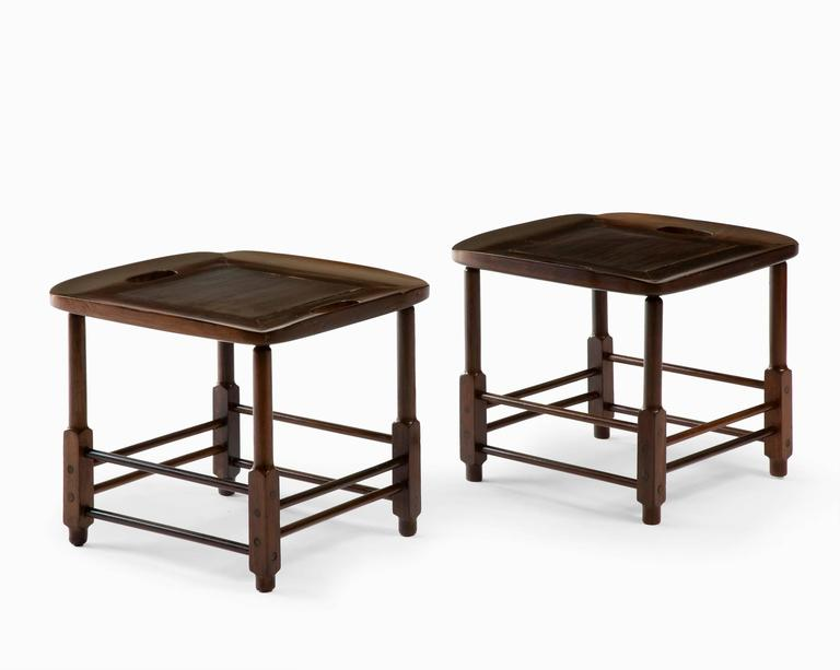 "Mid-20th Century ""Magrini"" Side Table or Stool Designed by Sergio Rodrigues, Brazil, 1963 For Sale"