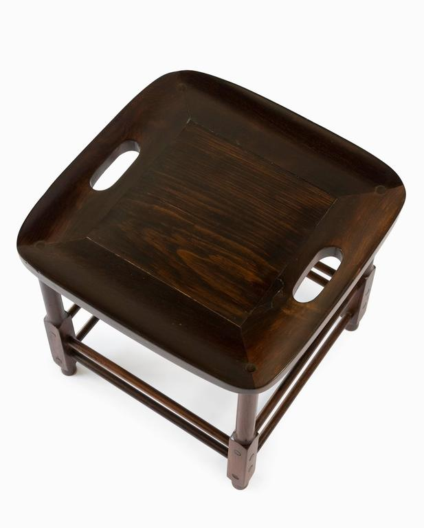 "Jacaranda ""Magrini"" Side Table or Stool Designed by Sergio Rodrigues, Brazil, 1963 For Sale"