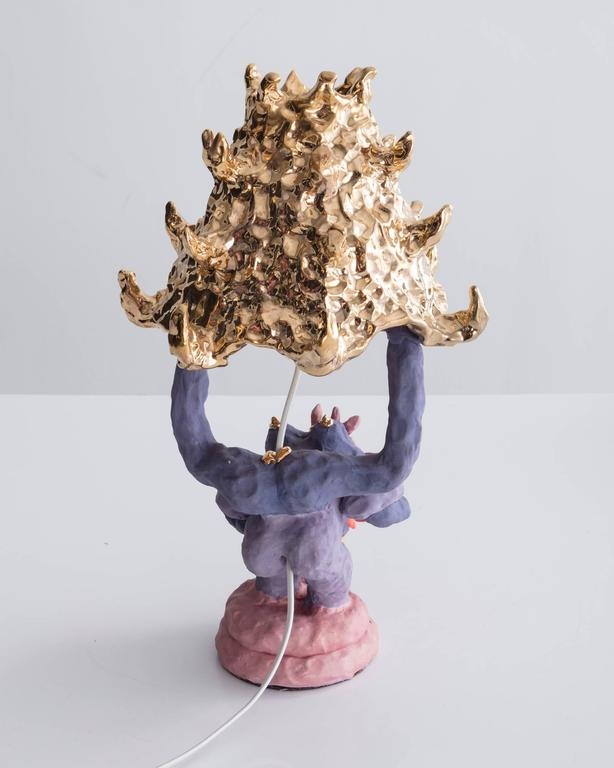 """""""Girl Lamp"""" in ceramic by Katie Stout, USA, 2017. 2"""