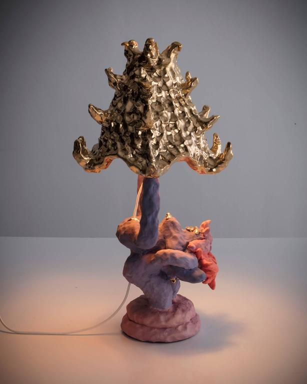 """""""Girl Lamp"""" in ceramic by Katie Stout, USA, 2017. 5"""