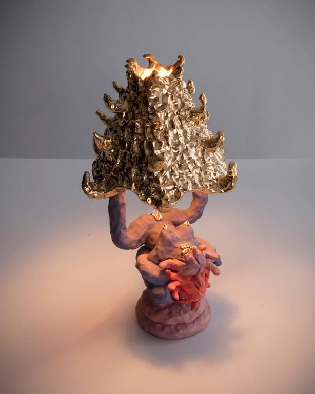 """""""Girl Lamp"""" in ceramic by Katie Stout, USA, 2017. 8"""