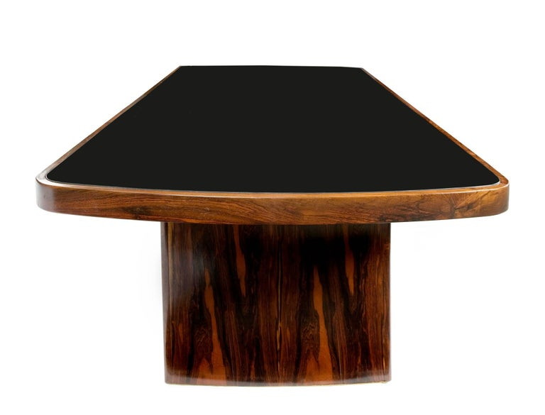 Dining Table in Jacaranda by Joaquim Tenreiro, 1949 For Sale 1