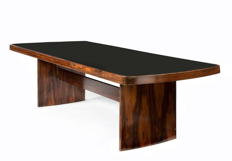 Dining Table in Jacaranda by Joaquim Tenreiro, 1949 For Sale 2