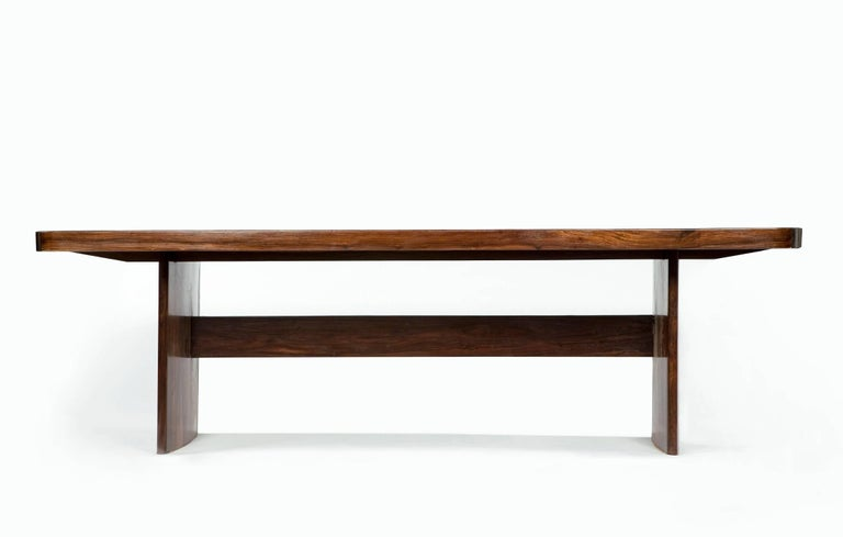 Dining Table in Jacaranda by Joaquim Tenreiro, 1949 9