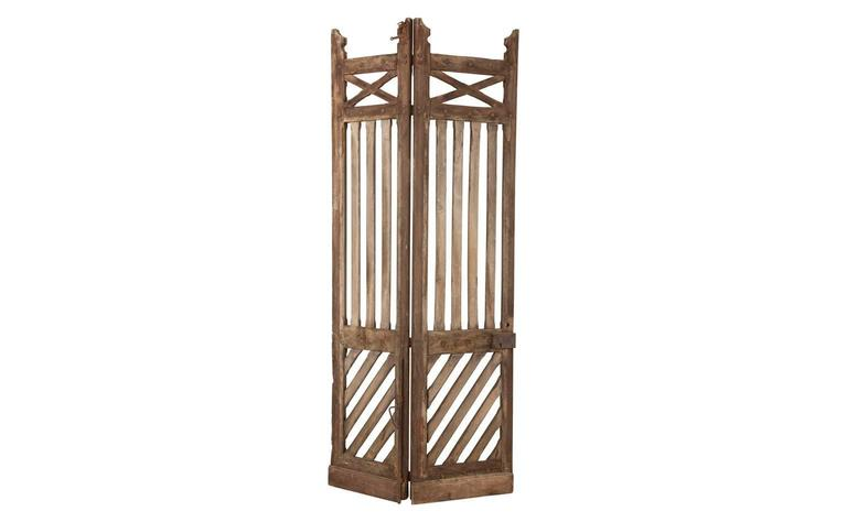 Antique French Wooden Door