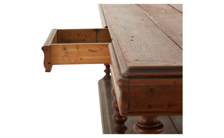 Wood Late 19th Century French Draper's Table For Sale