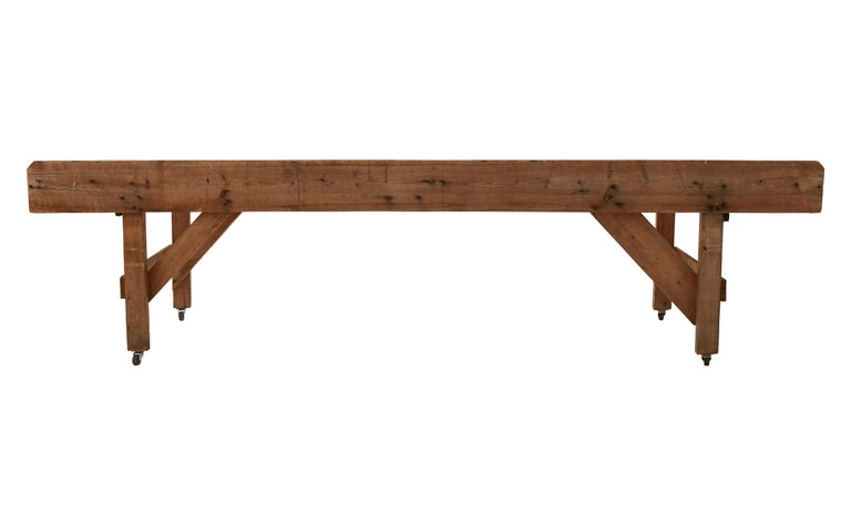American 20th Century Wooden Work Table For Sale