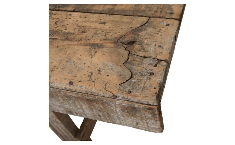 20th Century Wooden Work Table For Sale 3