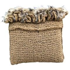 """""""Torino"""" Merino Wool Pillow"""